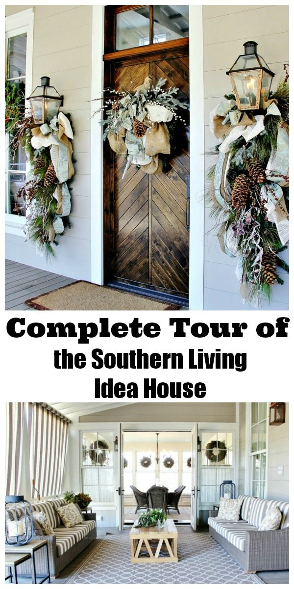 20 Decorating Ideas from the Southern Living Idea House Home Decor - southern living christmas decorations