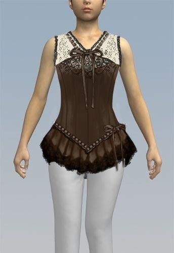 2e7927280ae Steampunk Corset Top design by Amber Middauh Steampunk Dress