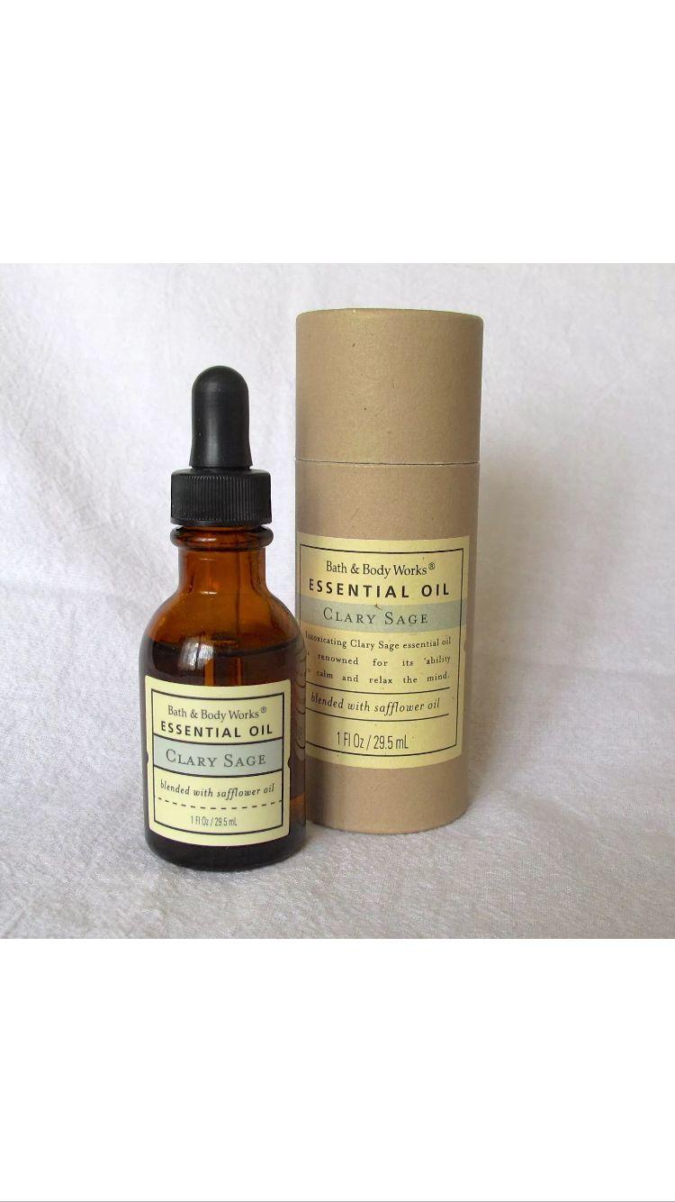 Bath & Body Works Vintage Clary Sage Essential Oil   Dream