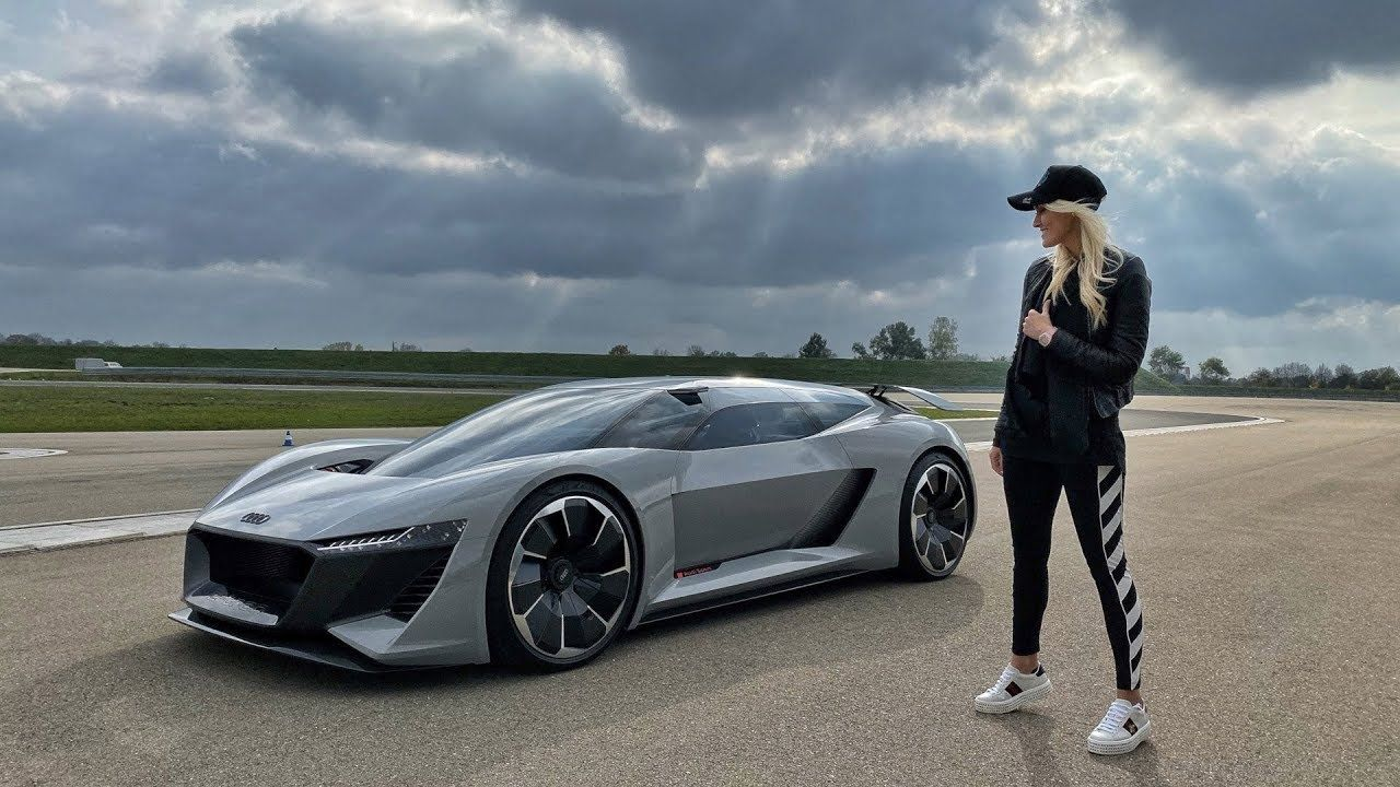 Audi S Future Supercar Super Cars Electric Sports Car Audi