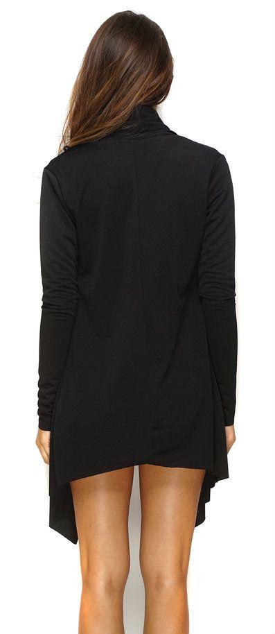 WantMyLook - Maytal Open Cardigan - Black, $49.99 (http://www.wantmylook.com/maytal-open-cardigan-black/)