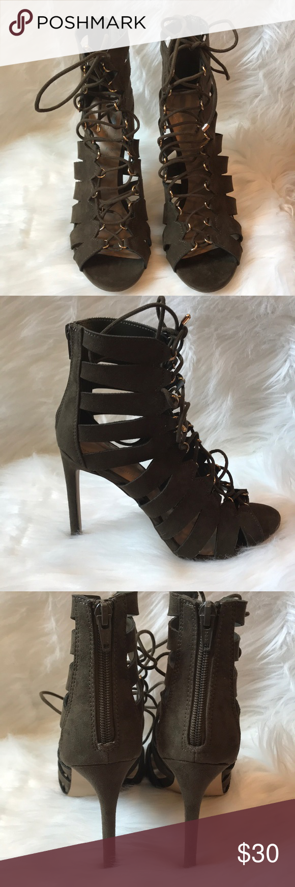 Heels for dark green dress  NWT Aldo Sorenza dress sandals NWT  My Posh Closet  Pinterest