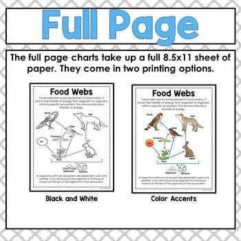 science mini anchor charts bundle