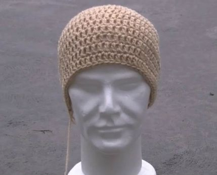 Basic Double Crochet Hat With Instructions On How To Make A Hat A