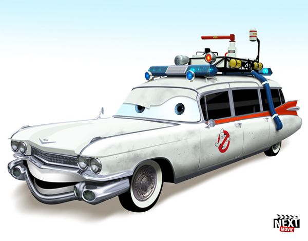 7 Famous Movie Cars Redone As Pixar Characters Famous Movie Cars Cars Movie Pixar Cars