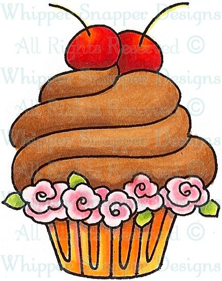 the perfect cupcake desserts food beverages rubber stamps shop