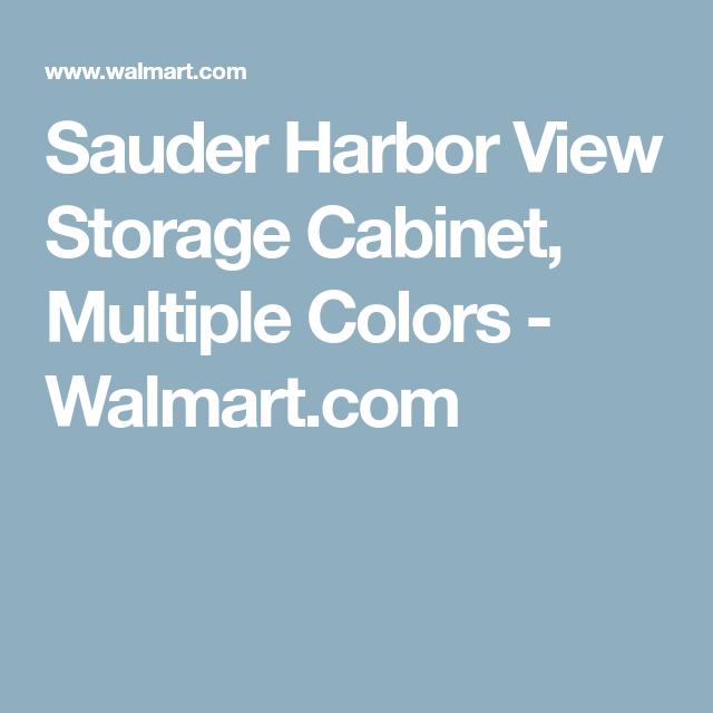 Unique Harbor View Storage Cabinet