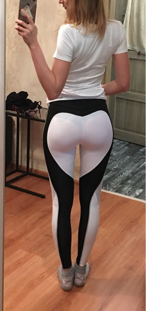 f316434cb219d6 The #heartshaped #leggings design does a flawless job showing off your best  asset. (pun intended) $19.98 plus FREE shipping! [prettyfitbox.com]