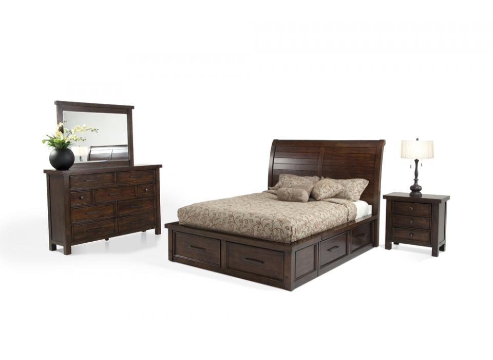 Hudson 7 Piece Queen Storage Bedroom Set | Hudson | Bedroom Collections |  Bedroom | Bobu0027s Discount Furniture