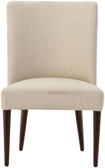 Curved Back Dining Room Chairs Endearing Custom Jenn Curved Upholstered Dining Chair  Curved Back Chair Design Decoration