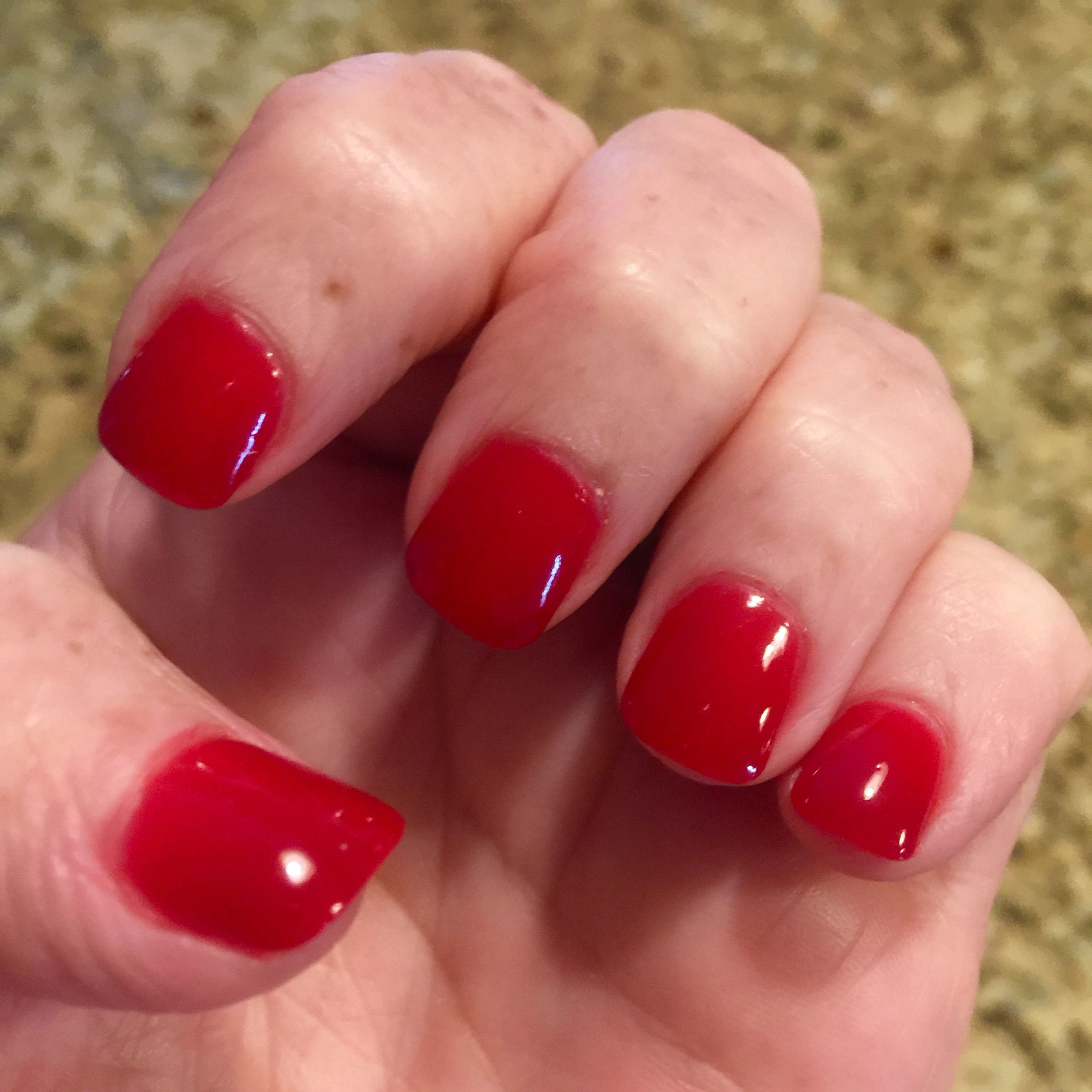 Nexgen Nail Color A29 Red | Products I Love | Pinterest