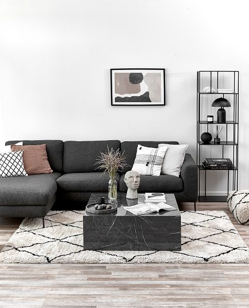 Photo of Lesley coffee table in marble look