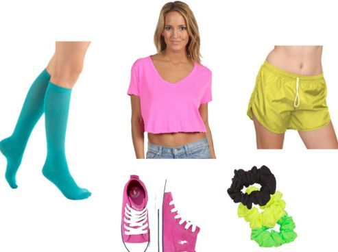 Neon Party Outfits Ideas Neon Outfit Ideas Themed Event