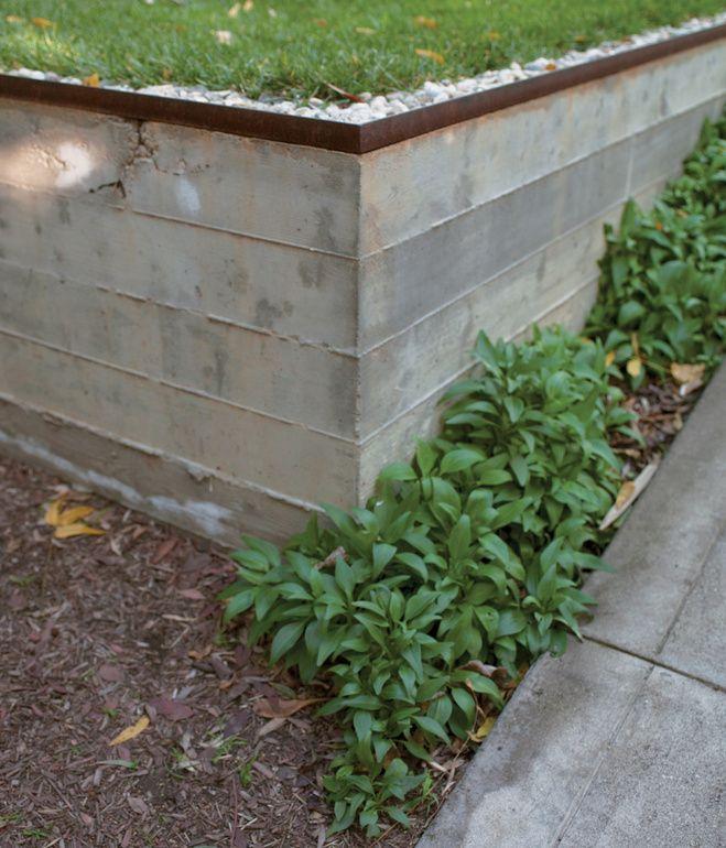 Slideshow Echo Chamber Dwell Concrete Retaining Walls Retaining Wall Design Retaining Wall