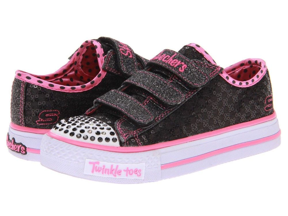 black skechers for girls