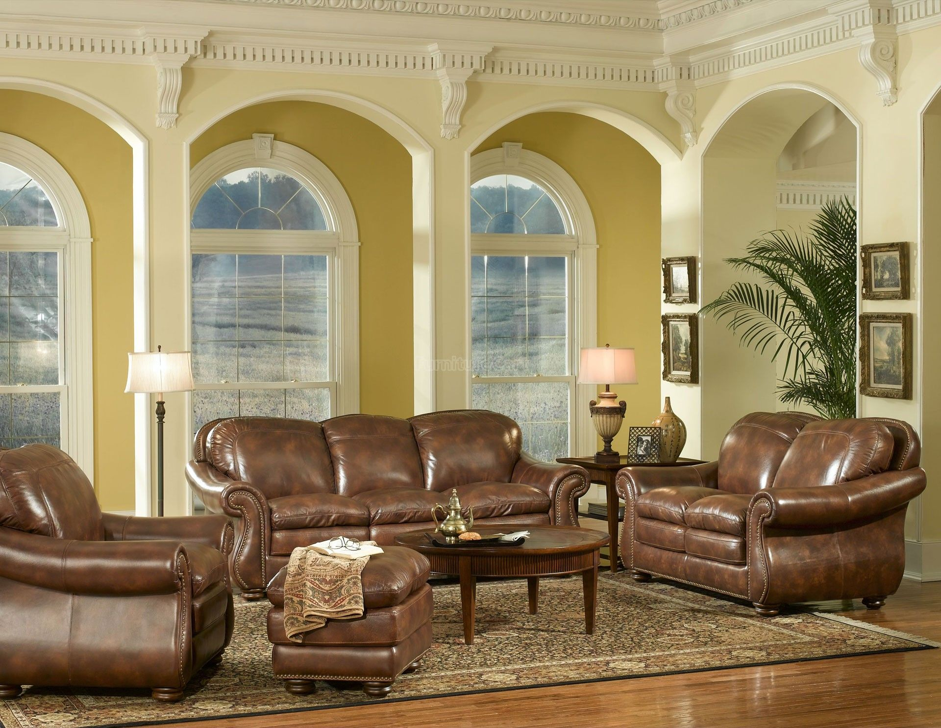 Leather Living Room Sets Clearance