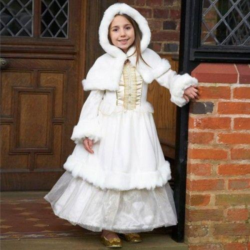 Winter Wonderland Wedding Gowns: Winter Wonderland Princess Kids Costume