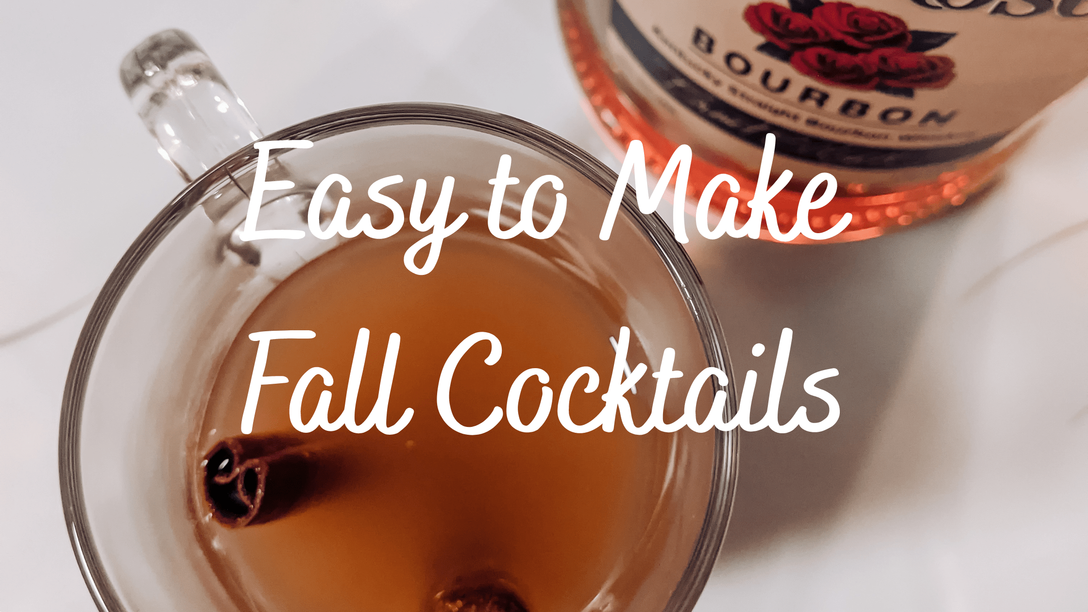 Easy to Make Fall Cocktails – the Bess life- health, fitness, lifestyle