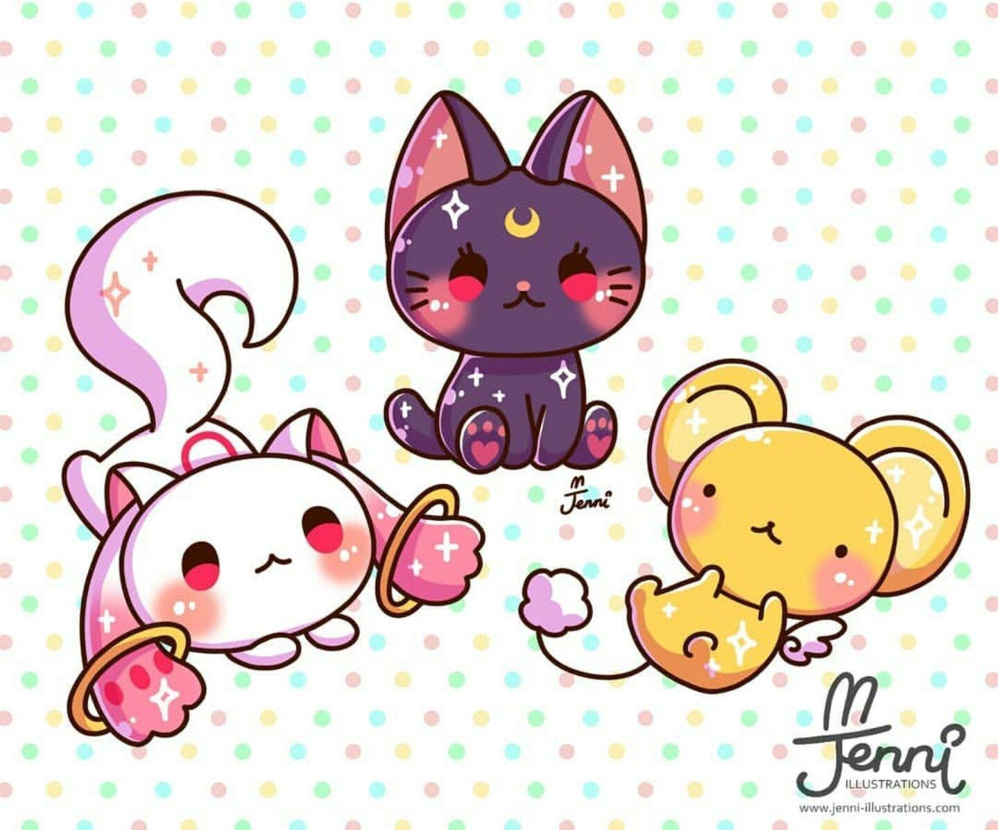 Www Jenni Illustrations Com Kawaii Drawings Cute Drawings