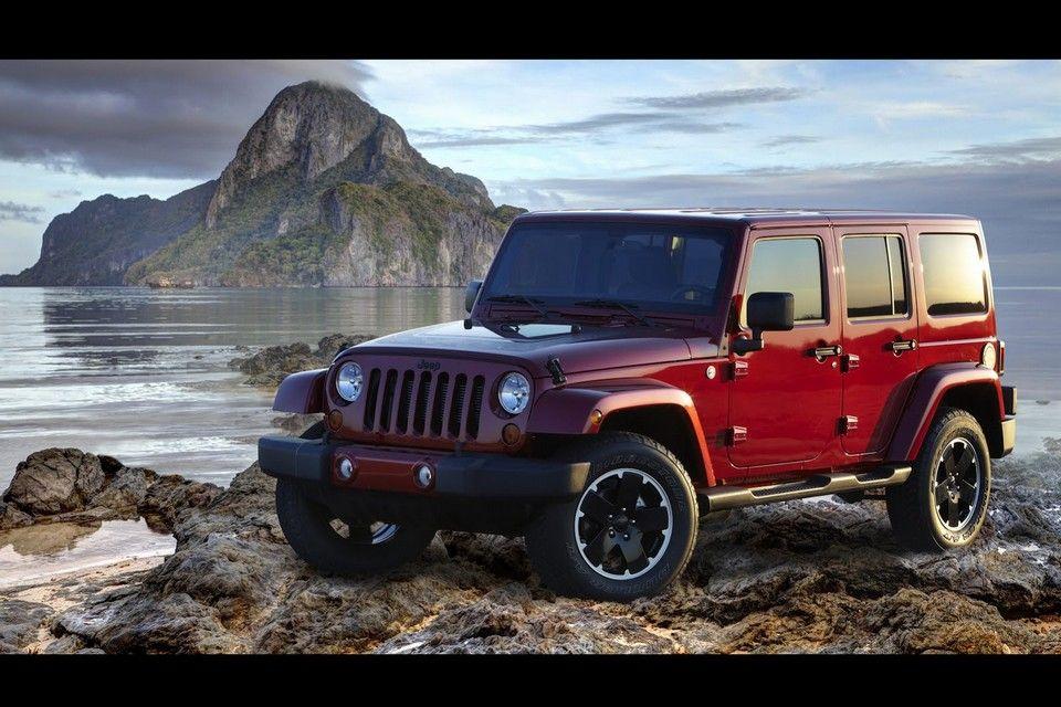 Le Jeep Wrangler penche également pour l'Altitude le