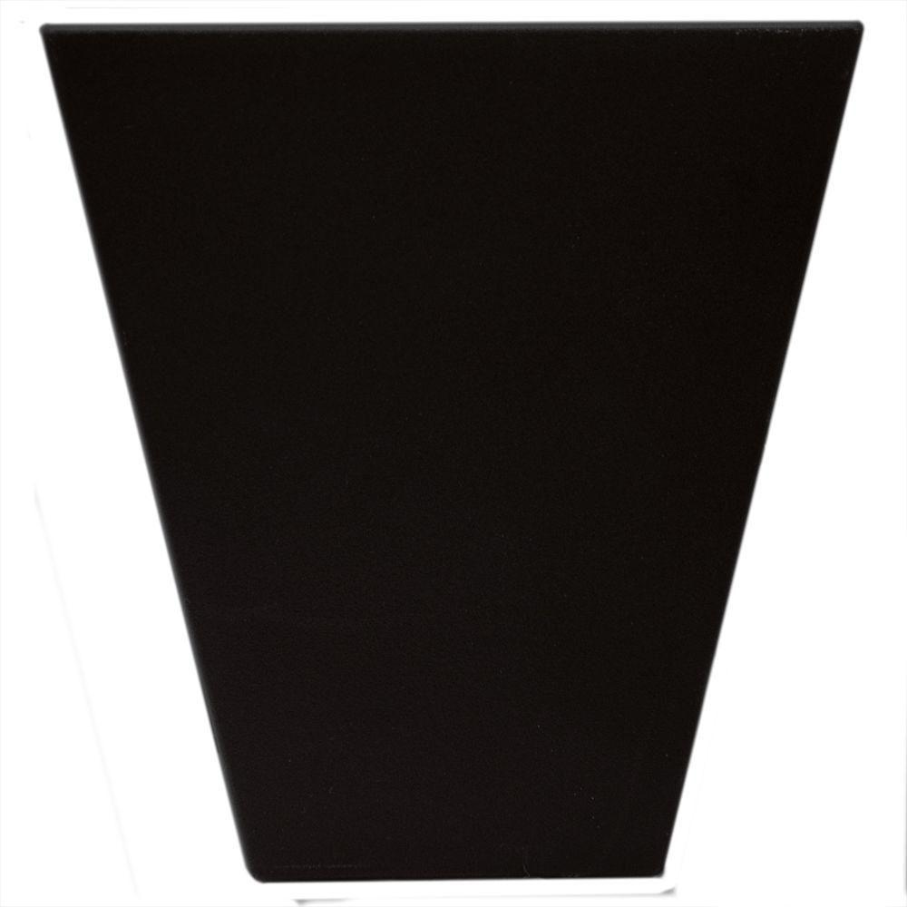 Builders Edge 9 in. Flat Panel Window Header Keystone in 002 Black