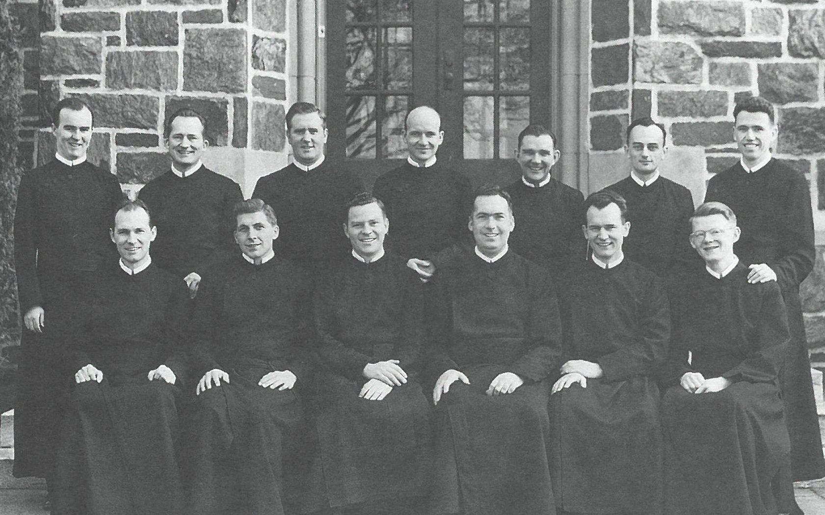 The Paulist Fathers' ordination Class of 1953. This picture appeared in the March 30, 2003 issue of Paulist Today.