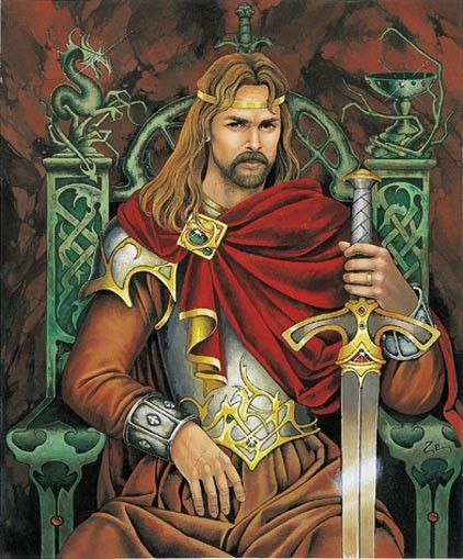 Le roi arthur c zephyr delph male fantasy art pinterest illustrations fandeluxe Choice Image