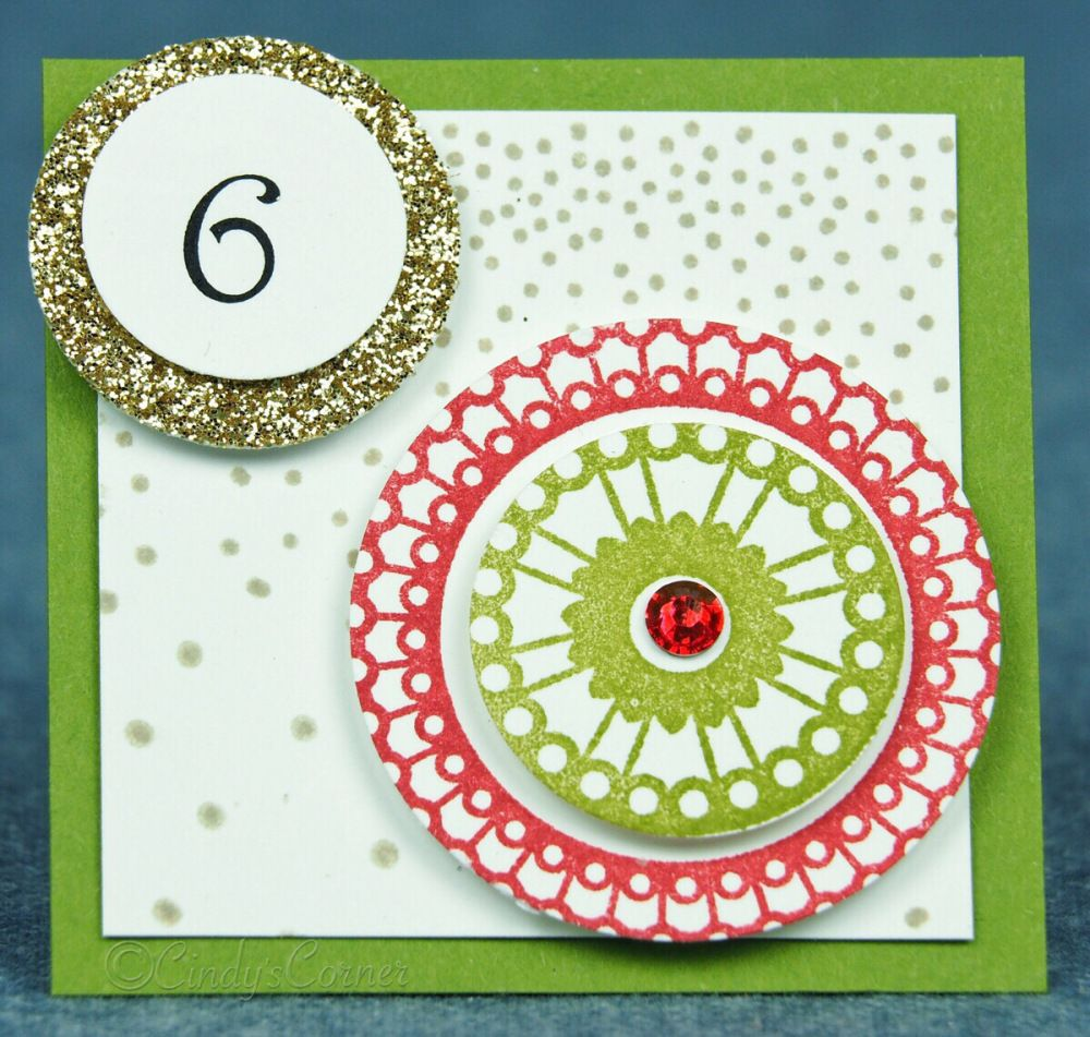 Advent Calendar Countdown to Christmas Day 6