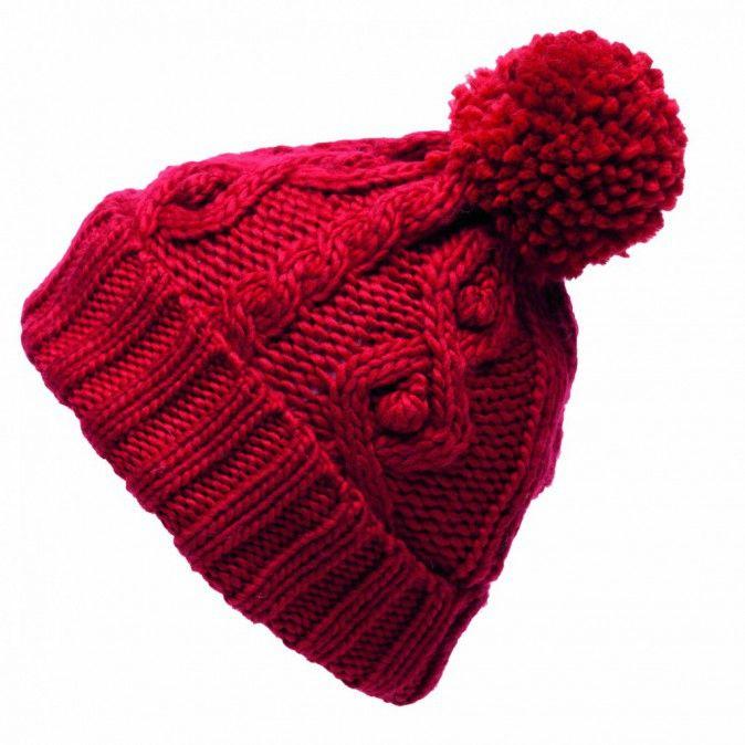 tricoter un bonnet rouge