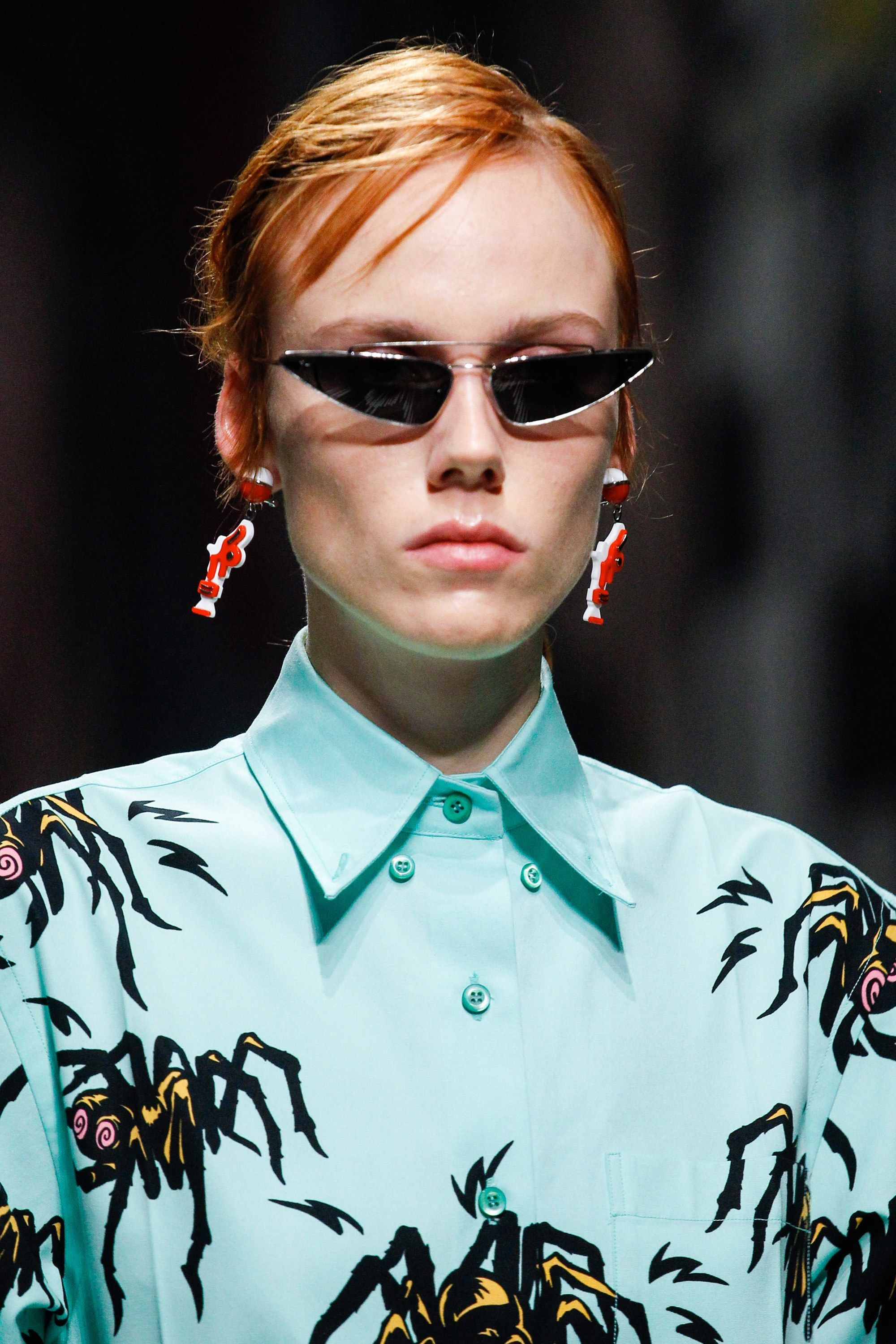 f194488af79b See detail photos for Prada Spring 2018 Ready-to-Wear collection.