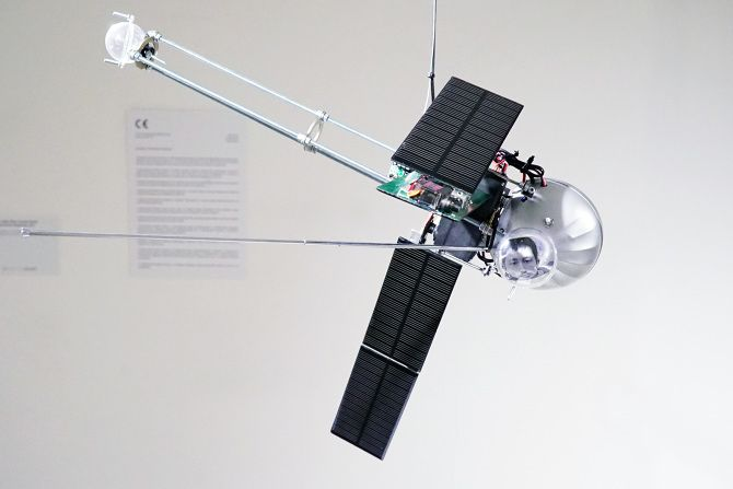 This Tiny Satellite Sculpture Is a Solar-Powered Synthesizer | The Creators Project