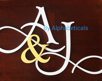Wall Decor Wooden Letters Wall Letters Wooden por Alphabeticals ...