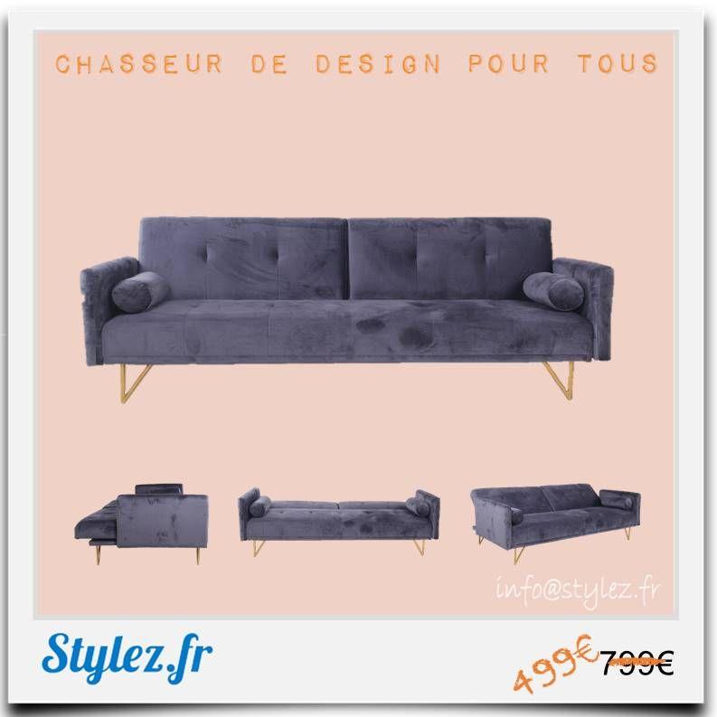 Stylez Deco Design Home Stylez Fr Decorationinterieur Meuble Canape Canapes Canapeveloursgris Canapeveloursgrisfonce Ca Canape Velours Canape Orange Et Canapes Tendance
