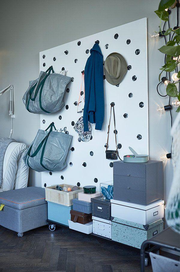 fintorp crochet noir pinterest kitchen hooks extra storage and plywood. Black Bedroom Furniture Sets. Home Design Ideas