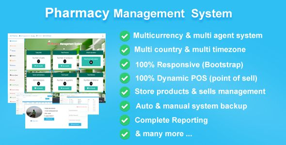 nice Pharmacy Management Technique, bootstrap POS CMS (PHP