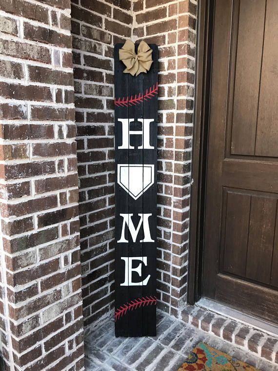 Photo of Baseball Decor, Baseball Sign, Sports Sign, Home Plate Sign, Sports Gifts for Men, Sports Decor, Man Cave Wall Art, Rustic Home Decor