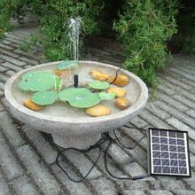 Haute efficacité pompe de jardin Brushless eau solaire pour le ...