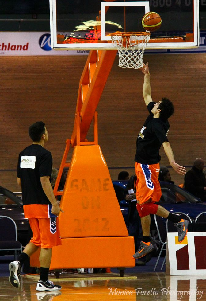 Opening game at Stadium Southland for the Southland Sharks for 2013.    Home game v Super City Rangers which the Sharks won 93 - 74.  April 19, 2013
