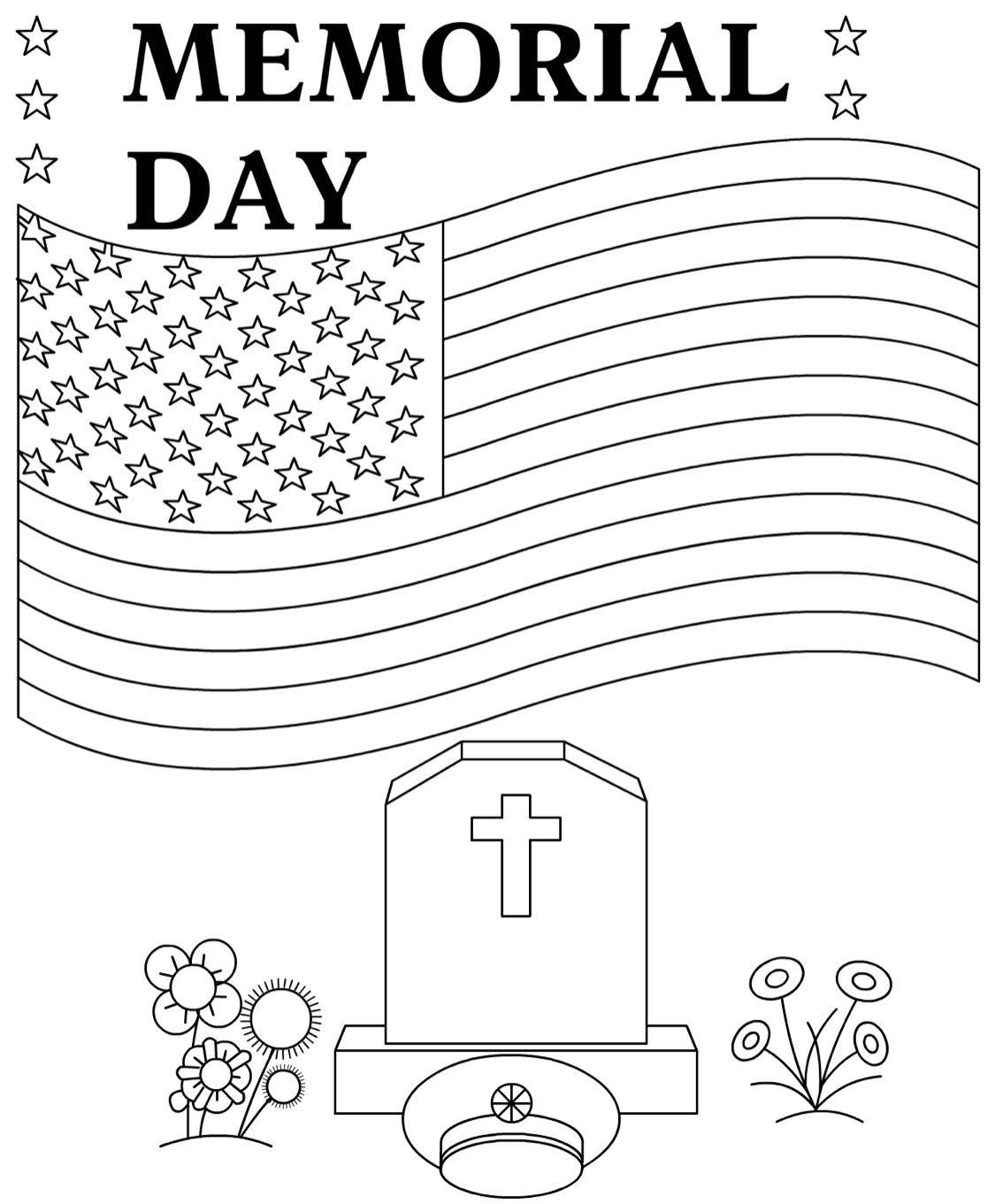 Memorial Day Coloring