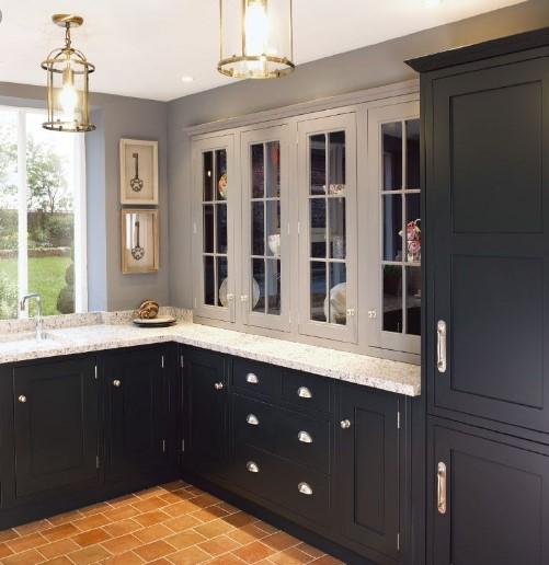 Dark Grey Shaker Style Kitchen Grey Shaker Kitchen Shaker Style