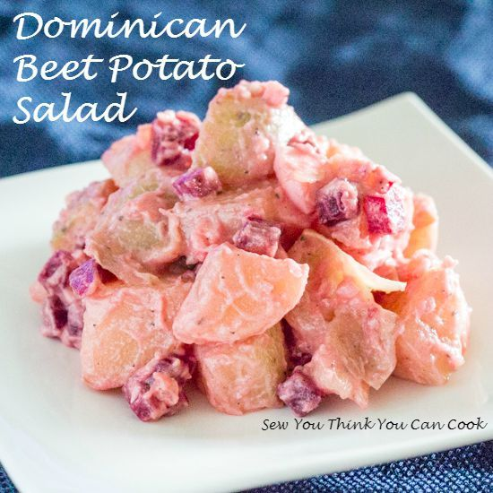 Dominican Potato Salad With Beets Recipe