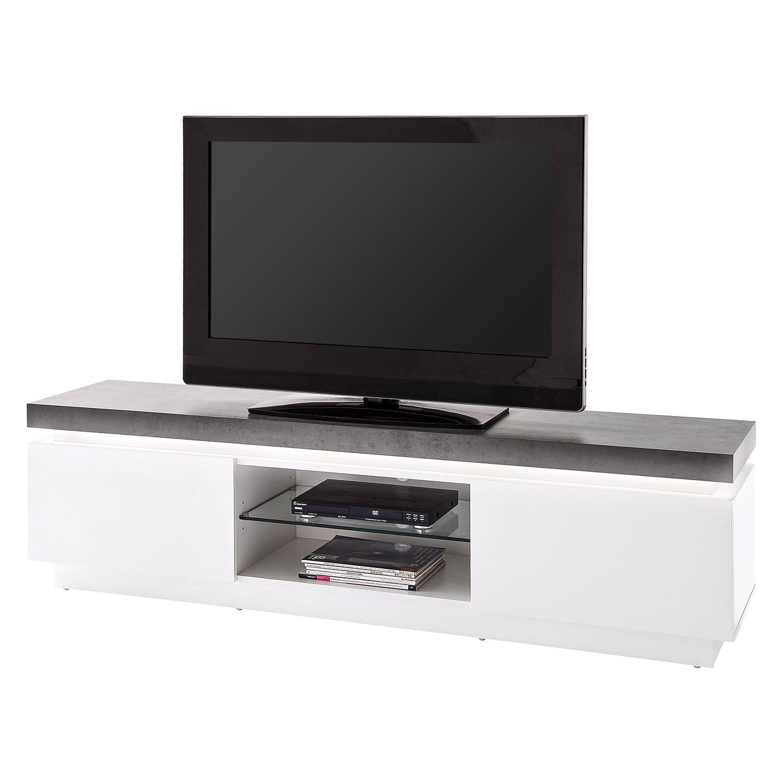 Meuble Tv Namona I Avec Eclairage Tv Hifi Mobel Wohnzimmer Tv Wohnzimmer Gemutlich