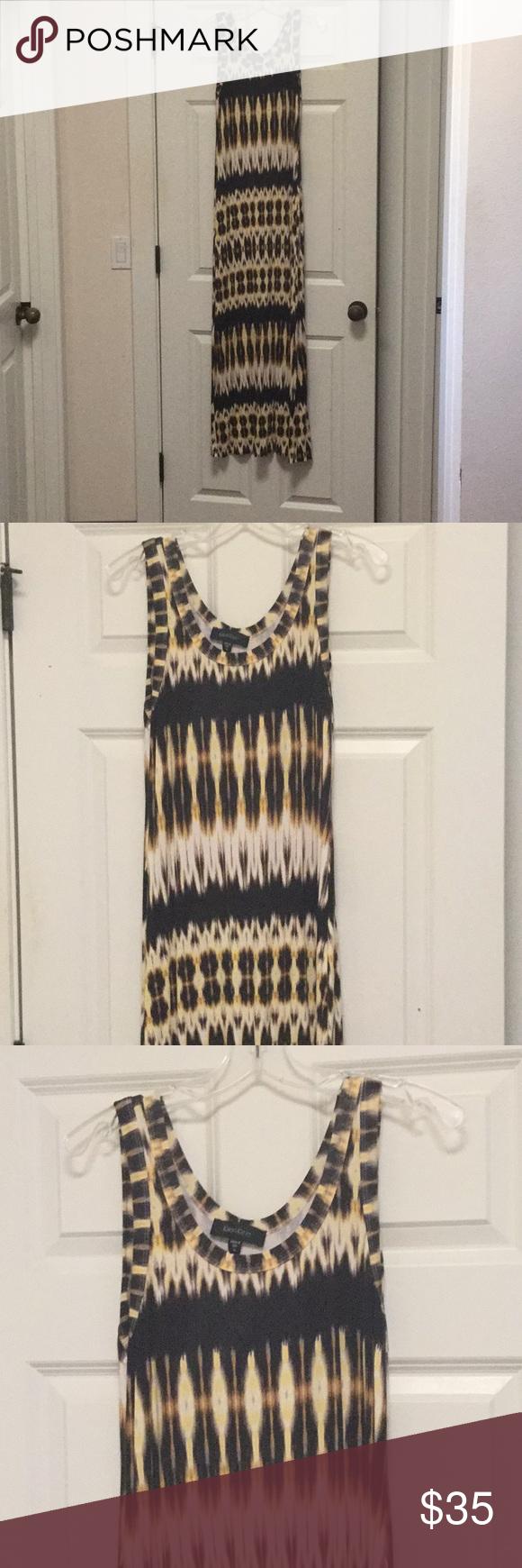 Karen Kane Maxi Dress Size M Nwot Tribal Print Maxi Dress Karen Kane Dress Maxi Dress [ 1740 x 580 Pixel ]