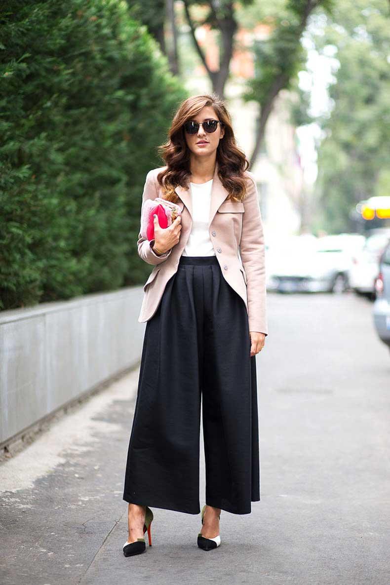 Photo of Ispirazione per indossare pantaloni larghi in questa stagione