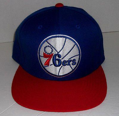 Neu PHILADELPHIA 76ers Mitchell /& Ness Kappe Cap Basketball
