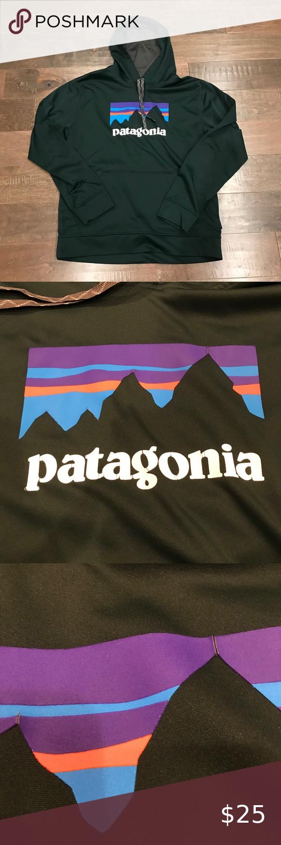 Patagonia Mens Graphic Kangaroo Pocket Hoodie Sz M Kangaroo Pocket Hoodie Patagonia Mens Patagonia Shirts