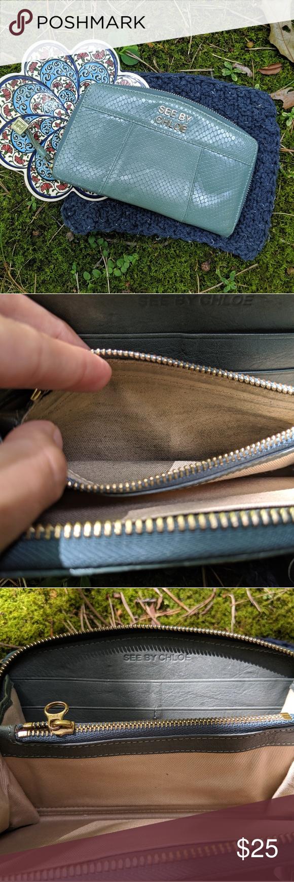 See By Chloe Zip Around Long Wallet SEE BY CHLOE Zip Around Long Wallet in good condition. Approx. 8 x 5 x 1 See By Chloe Bags Wallets #seebychloe