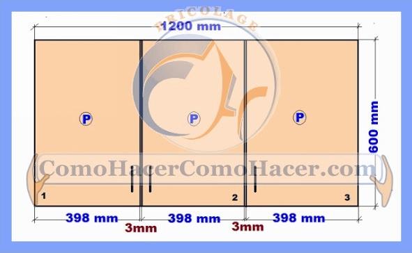 Brico web donde aprenderas bricolaje decoraci n for Planos de muebles de melamina pdf gratis