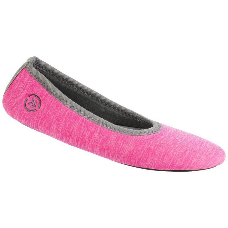 9464c98eacf Isotoner Women s Drew Tech Sport Ballerina Slippers