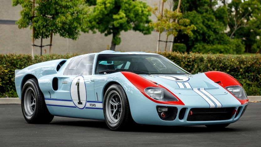 1966 Superformance Ford Gt40 Mkii S203 Kissimmee 2020 En 2020 Autos Coches Carreras De Autos